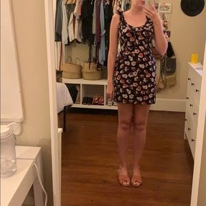 Kimchi Blue Urban Outfitters Floral Cocktail Dress